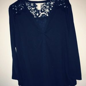 NWOT H&M Black Shirt